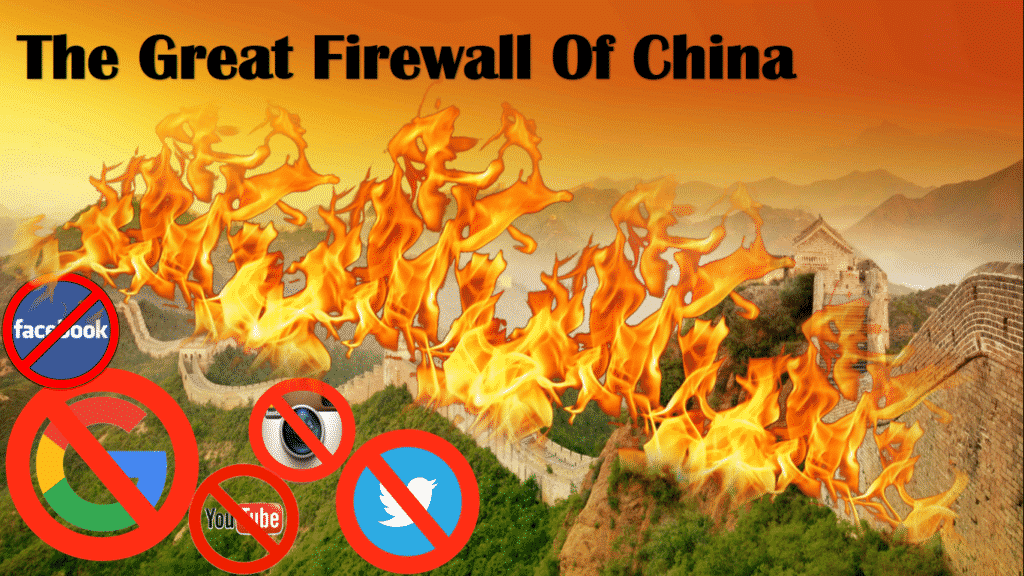 Tường lửa chặn các mạng xã hội nước ngoài