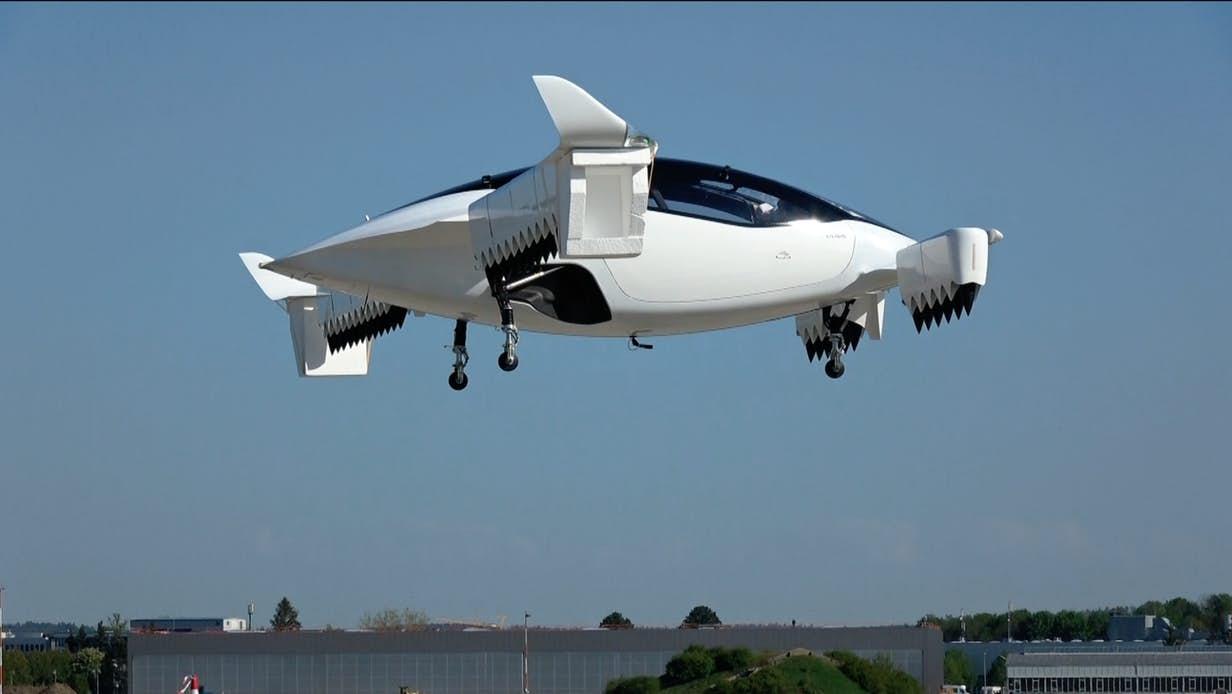 Đức: Máy bay phản lực chạy điện của hãng Lilium