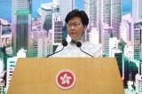 Trưởng Đặc khu Hồng Kông họp báo tuyên bố đình chỉ sửa đổi luật dẫn độ