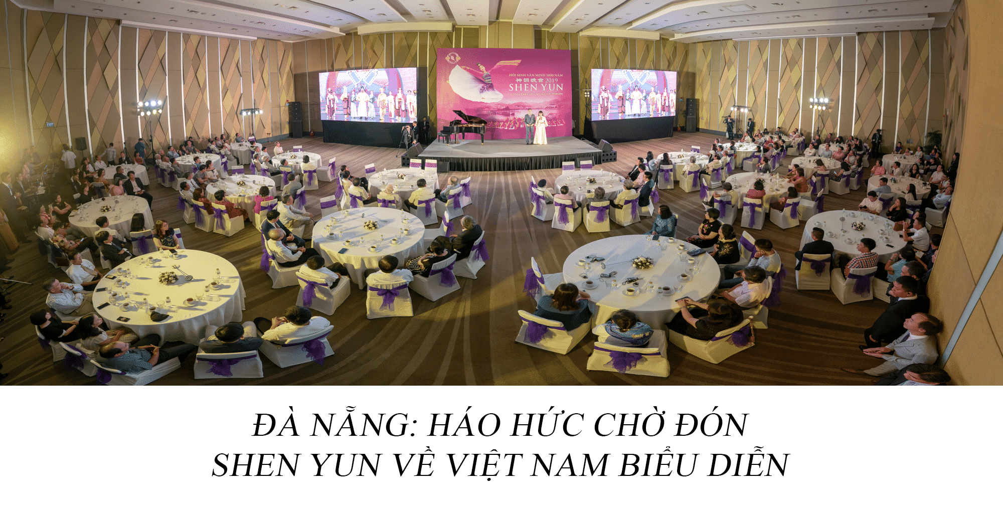 tiệc trà giới thiệu Shen Yun