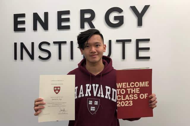 Chàng trai vô gia cư người Mỹ gốc Việt đậu Đại học Harvard