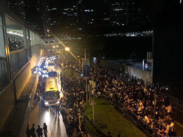 bieu tinh Hong Kong