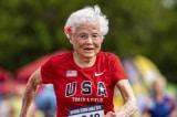 Cụ bà 103 tuổi lại đạt giải quán quân cuộc thi chạy 100m