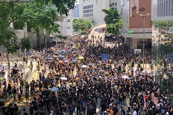 biểu tình hồng kong, cuộc biểu tình hong kong, bieu tinh hong kong, sự sụp đổ của ĐCSTQ