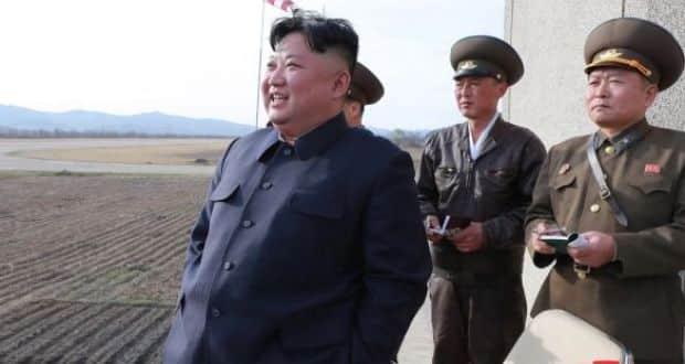 Bắc Hàn bắn vật thể chưa xác định ra biển