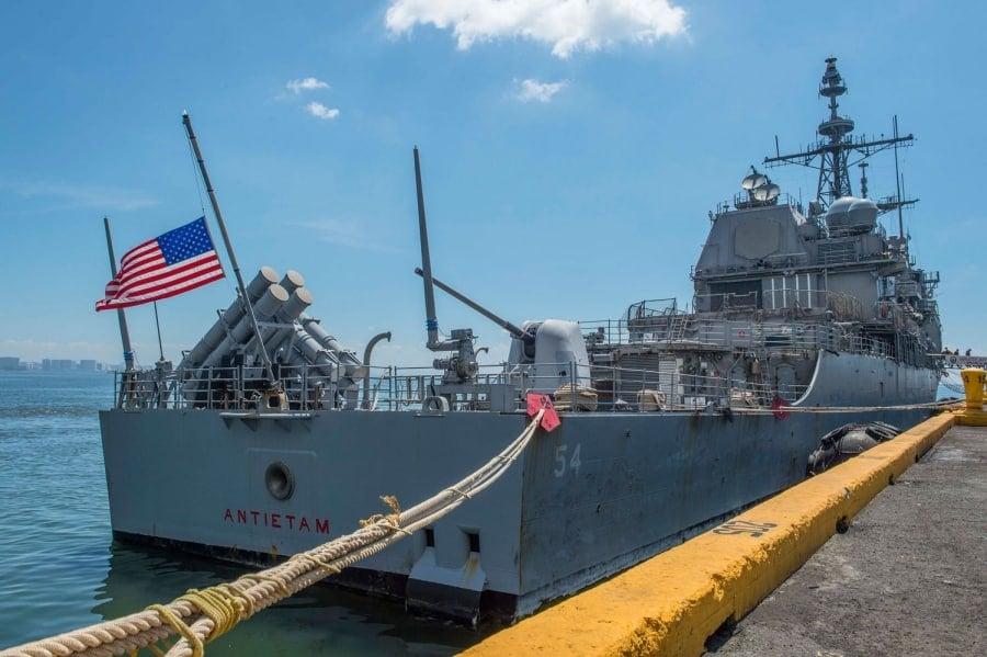 Tàu chiến Mỹ đi qua Eo biển Đài Loan, tàu chiến Mỹ, eo biển Đài Loan, Mỹ điều tàu chiến