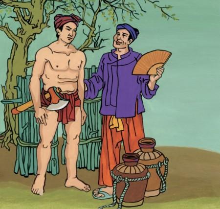 Cổ tích Thạch Sanh là một truyện cổ về tu luyện