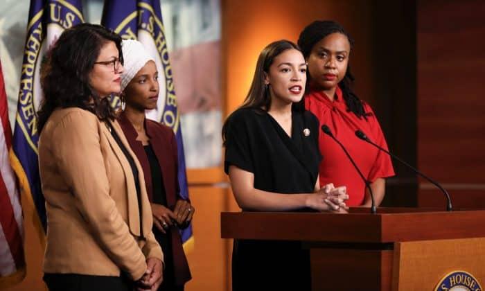 bốn nữ nghị sĩ dân chủ, bộ tứ nữ nghị sĩ dân chủ, bốn nhà lập pháp dân chủ