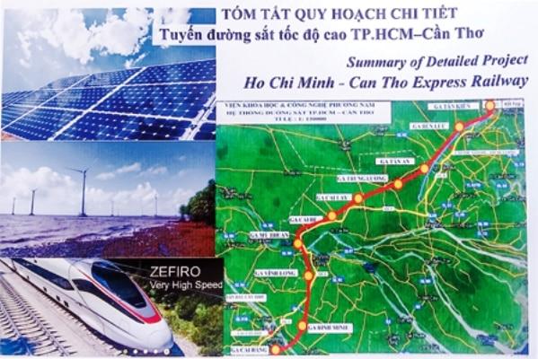 Dự án đường sắt tốc độ cao TP.HCM – Cần Thơ, TP.HCM, Cần Thơ