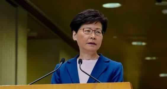Bà Carrie Lam tuyên bố chấm dứt dự thảo sửa đổi Luật dẫn độ - ảnh 1