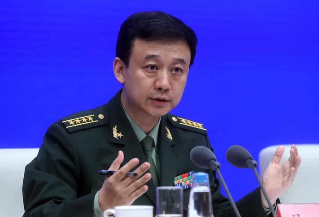 Ngô Khiêm, sách trắng quố phòng, quốc phòng trung quốc, sách trắng quốc phòng trung quốc, Người phát ngôn Bộ Quốc phòng Trung Quốc