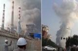 nổ nhà máy hoá chất, cháy nổ, nhà máy hoá chất