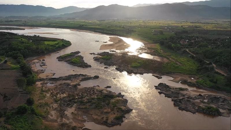 sông Mekong, sông Mekong cạn nước, thủy điện sông Mekong