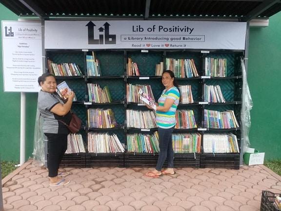 thư viện đường phố, thư viện mini
