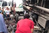 xe tải lật đè chết 5 người, tai nạn thảm khốc tại Hải Dương