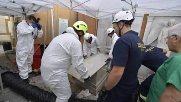 nhiều mảnh xương người chôn ở Vatican khi tìm kiếm Emanuela Orlandi