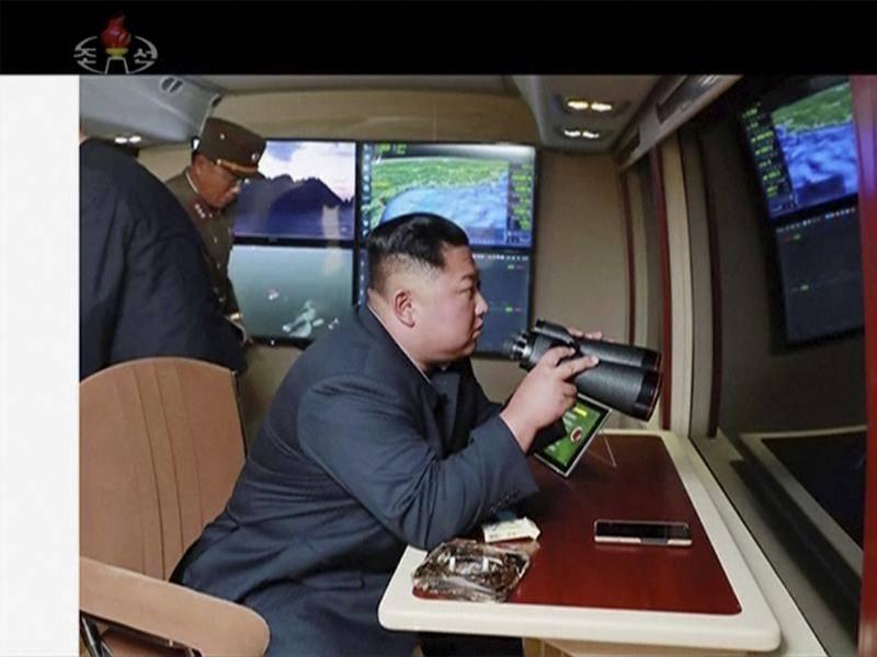 Bắc Hàn thử tên lửa lần ba trong 8 ngày