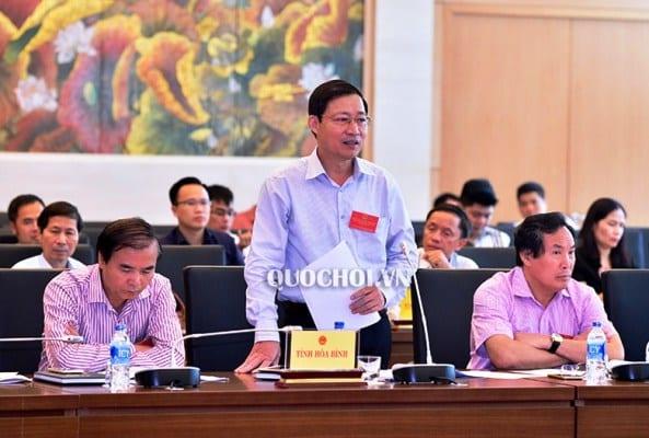 Ông Bùi Văn Cửu , Phó chủ tịch UBND tỉnh Hòa Bình ,kỷ luật cảnh cáo