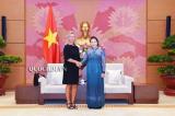 Chủ tịch Quốc hội Nguyễn Thị Kim Ngân, bà Federica Mogherini