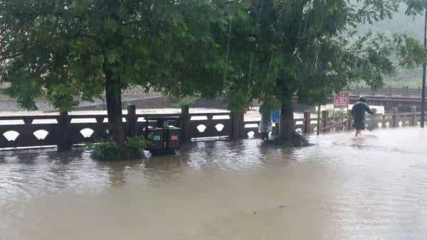 bão, bão lekima, lũ lụt tại Trung Quốc
