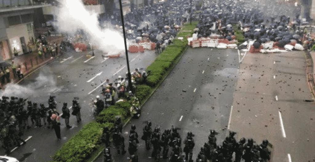 biểu tình Hồng Kông, phản đối luật dẫn độ