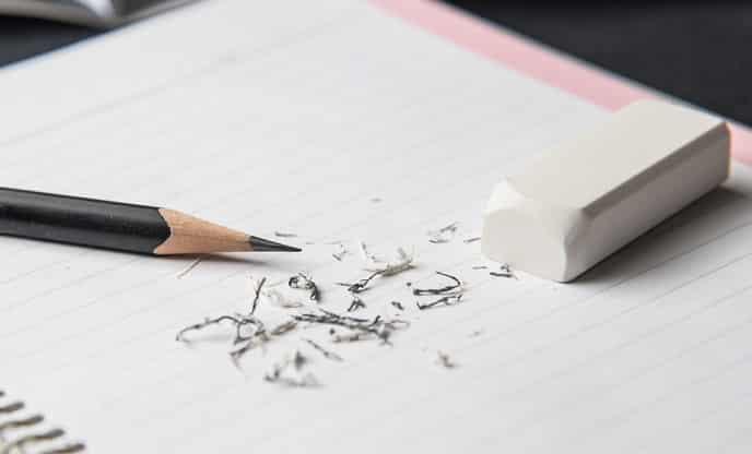 bút chì, cục tẩy, công dụng của bút chì