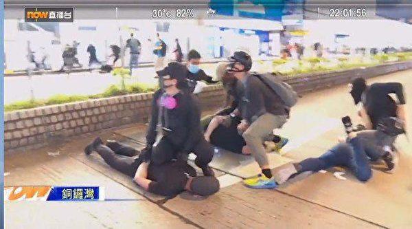 Hồng Kông, biểu tình, phản đối luật dẫn độ, cảnh sát đánh người biểu tình