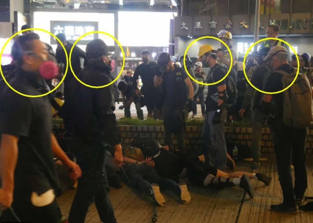 biểu tình, Hồng Kông, cảnh sát Hồng Kông, phản đối luật dẫn độ