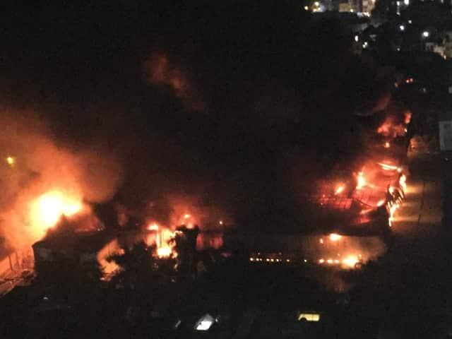 cháy nhà máy rạng đông, nhiễm độc