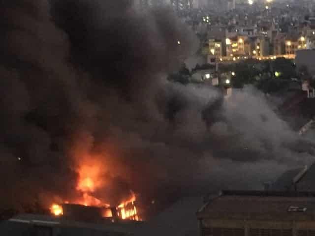 cháy Công ty Rạng Đông, nhiễm độc thủy ngân