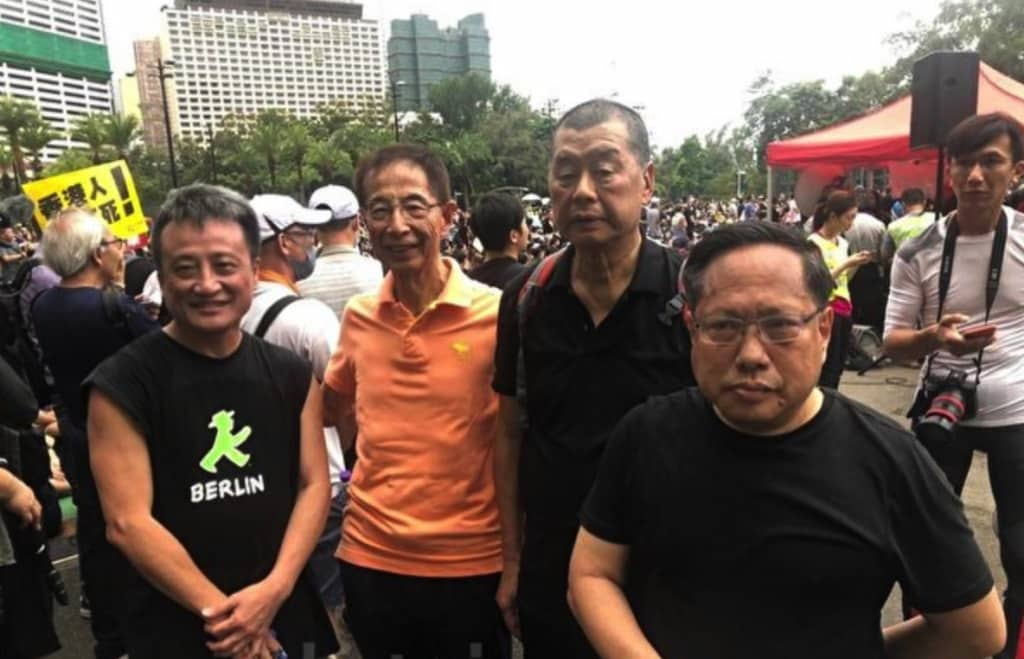 Hồng Kông, biểu tình Hồng Kông, phản đối luật dẫn độ