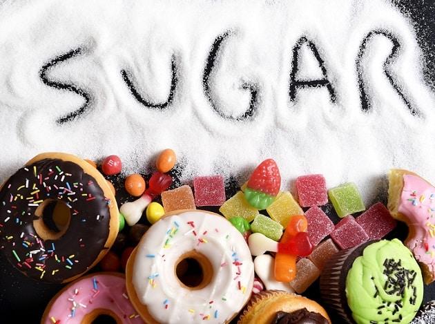 thực phẩm gây lão hóa, thực phẩm gây già trước tuổi, đồ ngọt