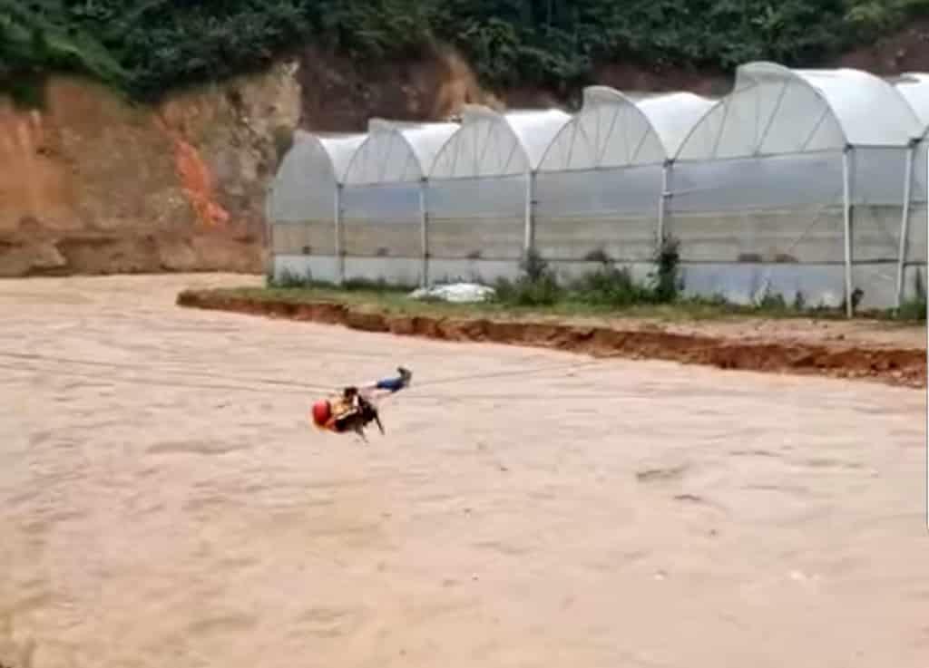 Lâm đồng ngập, thiệt hại do mưa lũ