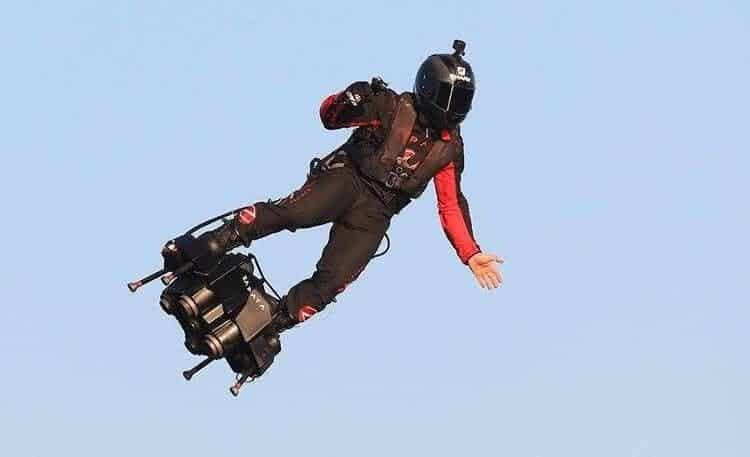 ván bay phản lực Flyboard Air