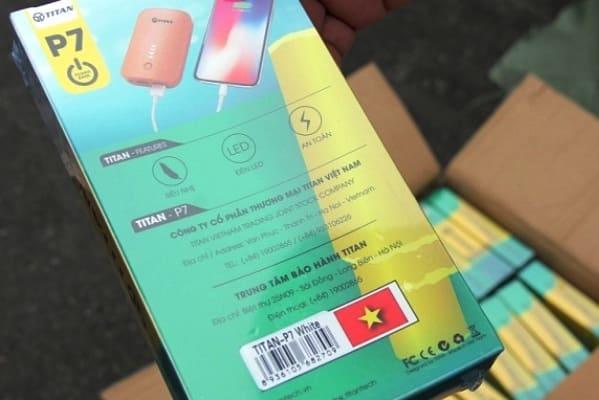lô hàng Trung Quốc ghi Made in Việt Nam, Hải Phòng