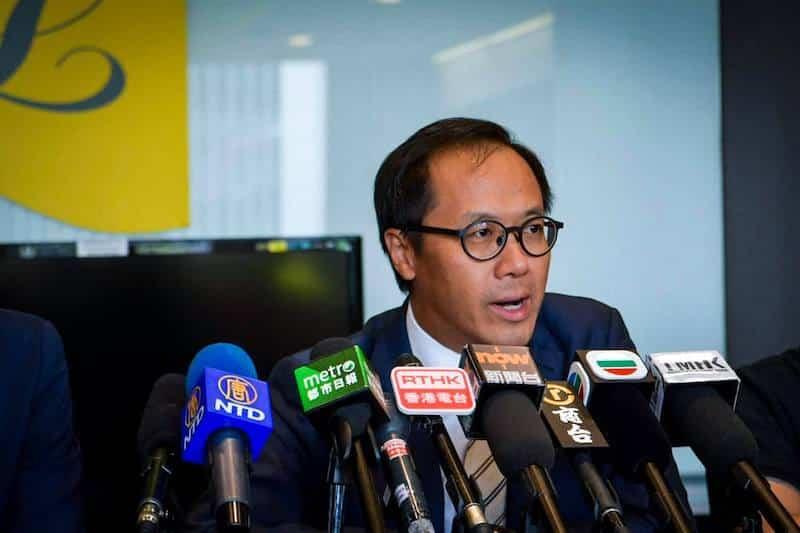 Kenneth Leung, phản đối luật dẫn độ, Hồng Kông