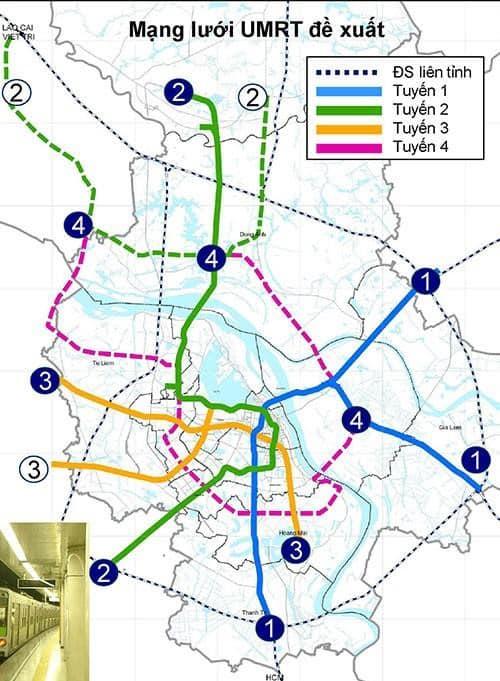 Metro số 1 tuyến Yên Viên - Ngọc Hồi