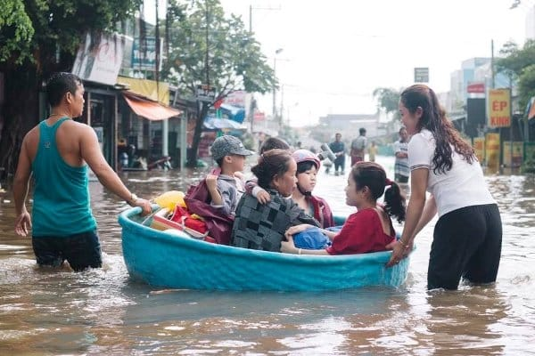 ngập tại Phú Quốc, Kiên Giang