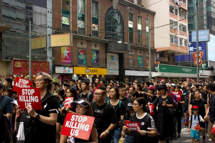phản đối luật dẫn độ, Hồng Kông, biểu tình Hồng Kông