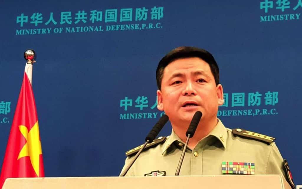 Nhậm Quốc Cường, bộ quốc phòng Trung Quốc