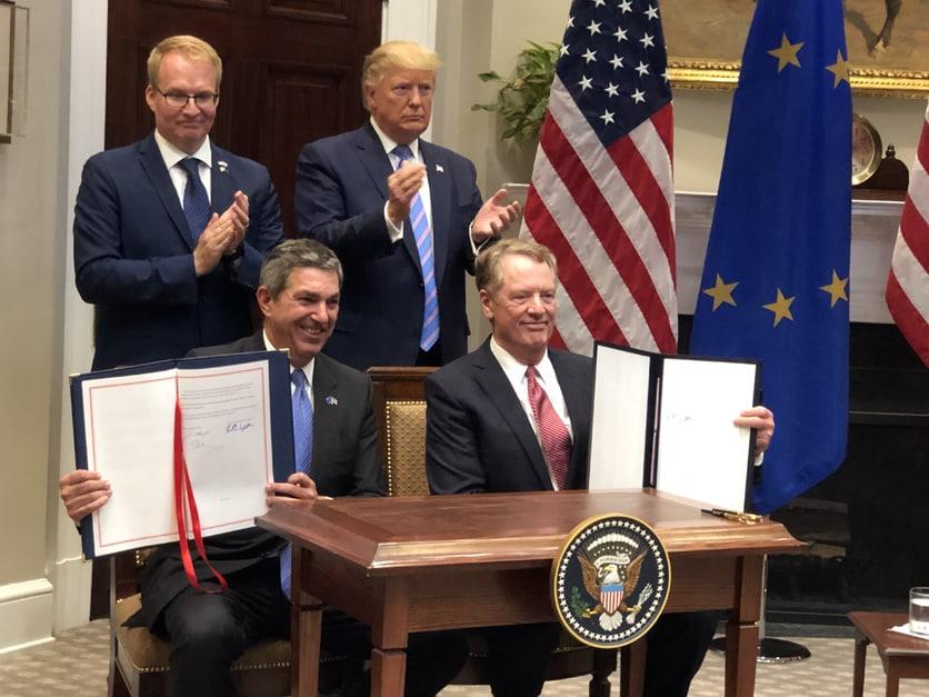 Mỹ-EU ký thỏa thuận giúp tăng xuất khẩu thịt bò Mỹ sang EU