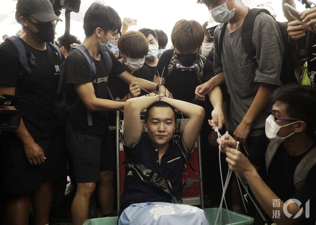 Thời báo Hoàn Cầu, biểu tình Hồng Kông, phản đối luật dẫn độ