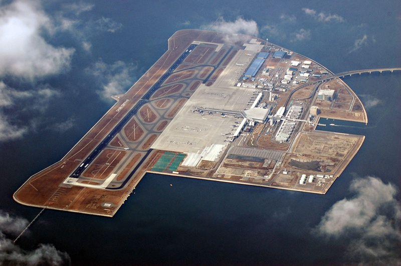 sân bay nổi Nhật Bản