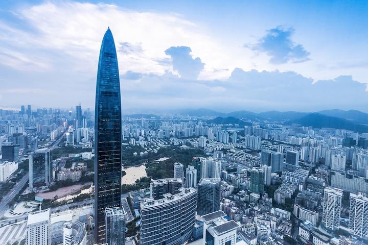 Thâm Quyến, Hồng Kông, khu đô thị kiểu mẫu