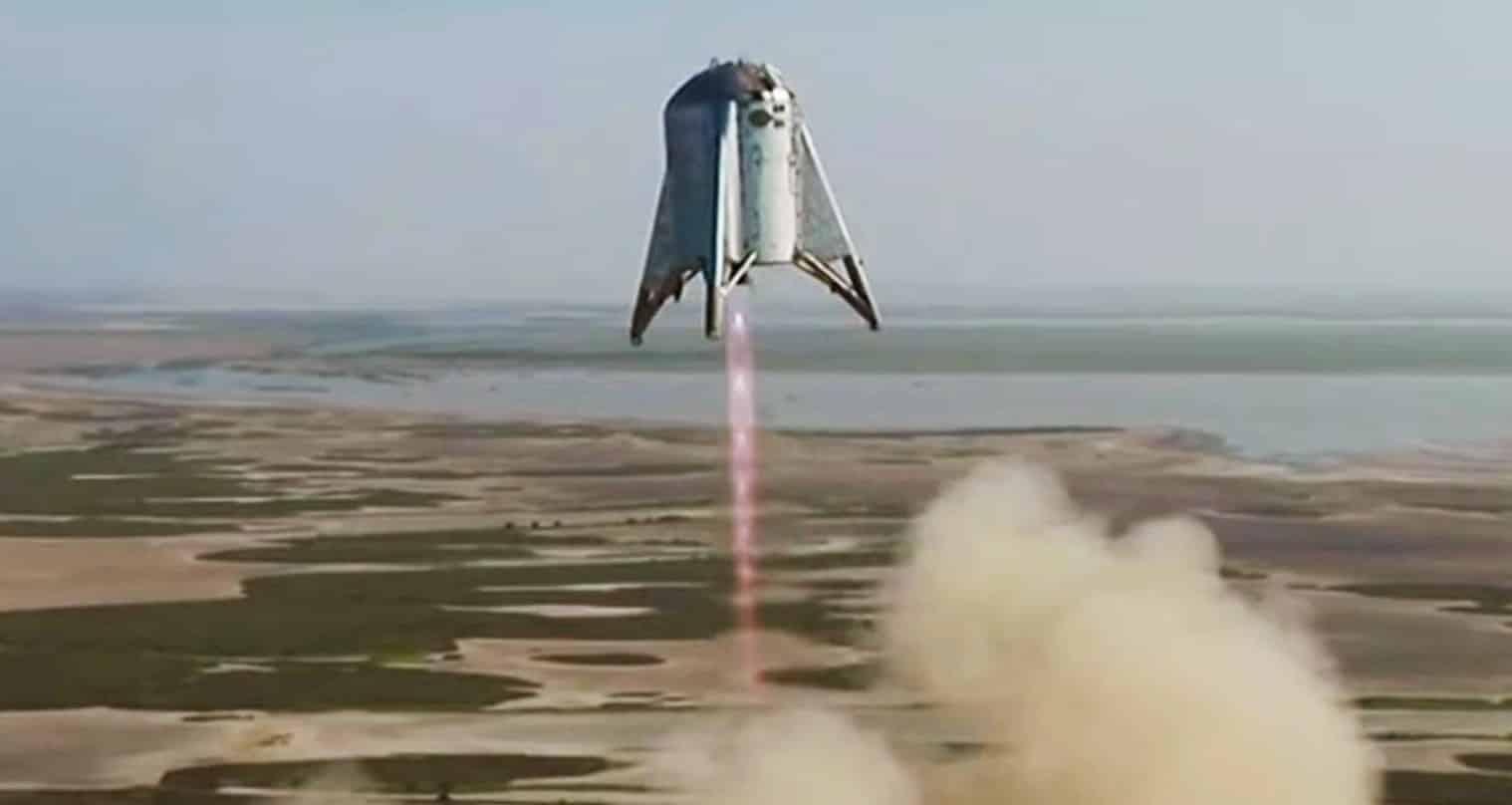 Tên lửa Starhopper của SpaceX cất cánh hạ cánh