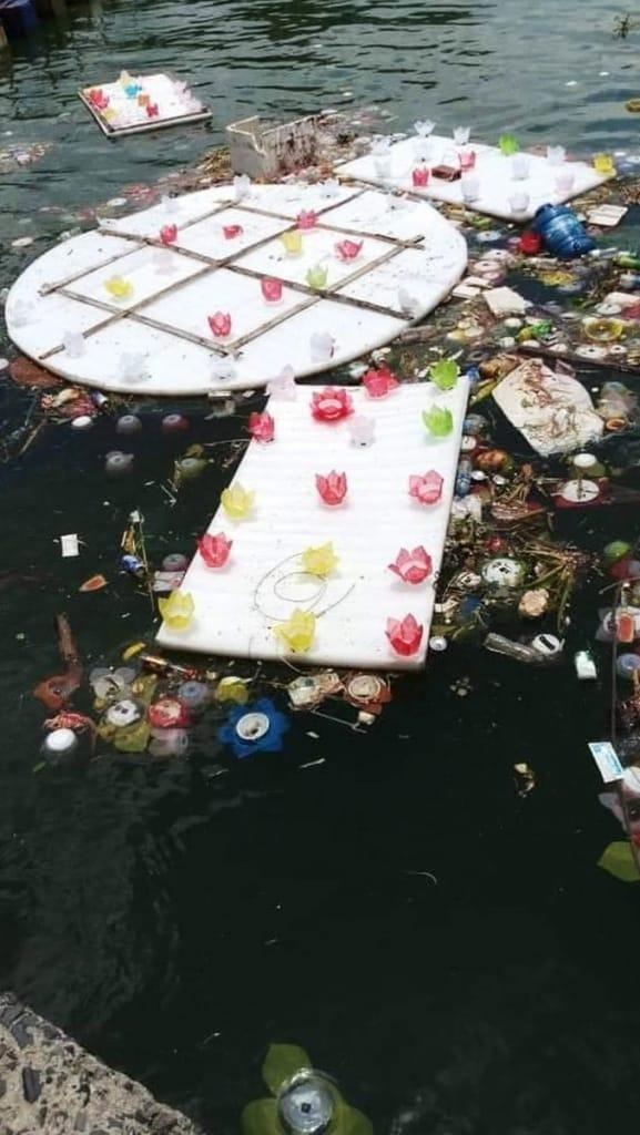 thả 3 vạn hoa đăng xuống biển, lễ vu lan