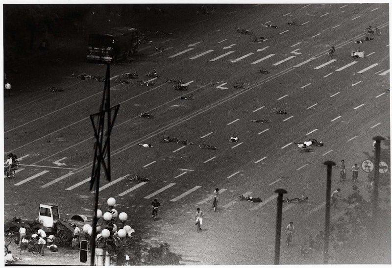 Lục Tứ, Thảm sát Thiên An Môn