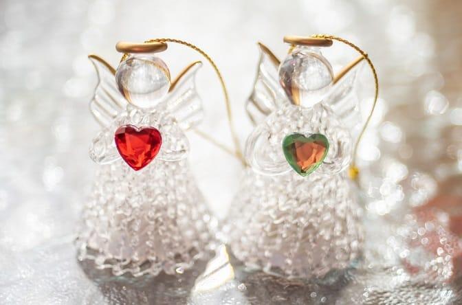 thiên thần thủy tinh, thiên thần, glass angel, Giáng sinh