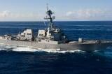 Tàu khu trục Mỹ đi gần các đảo Trung Quốc chiếm đóng tại Hoàng Sa