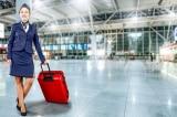hành lý du lịch, tiếp viên hàng không